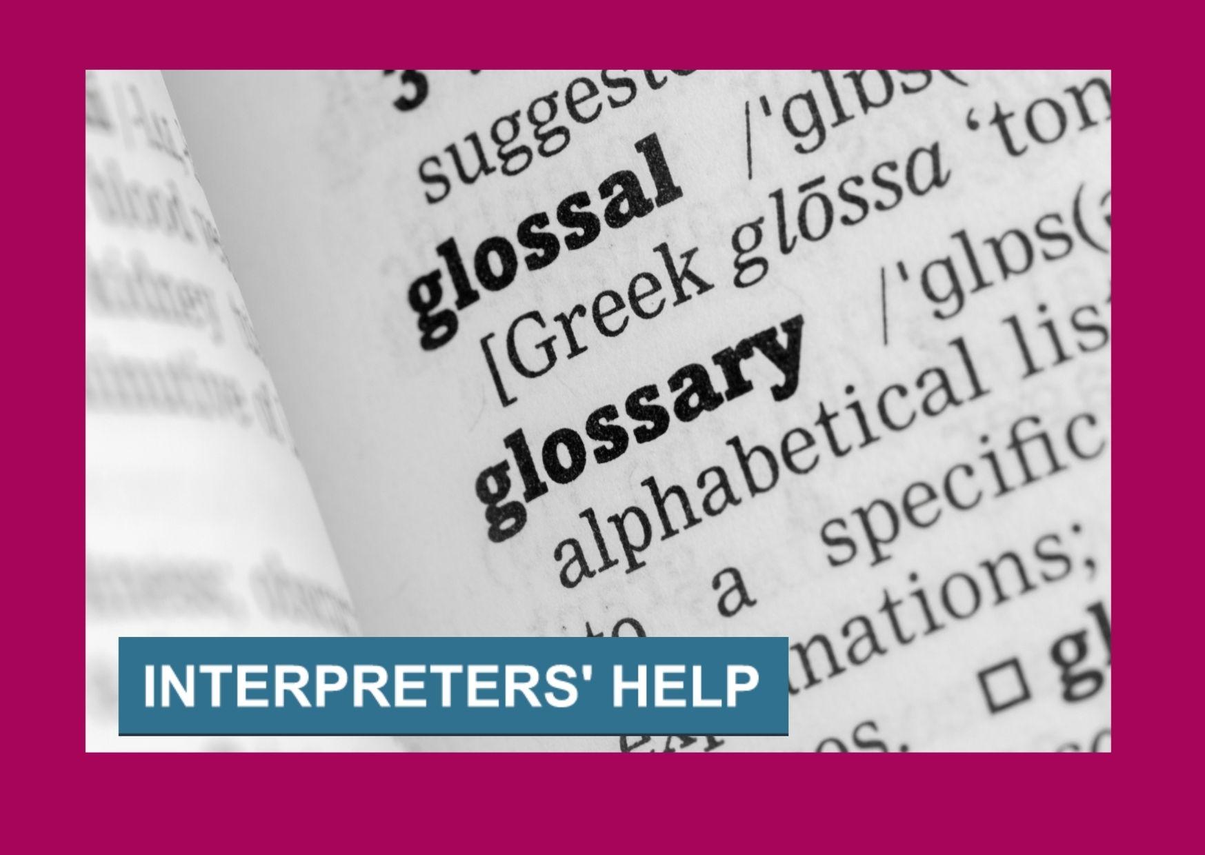 Interpreters' Help upsell offer